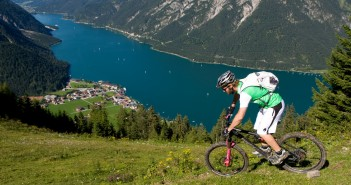 Mountainbiken am Achensee